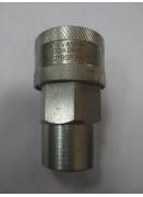 Быстроразъёмное соединение BRS 1/2 ISO A,розетка, резьба BSP