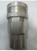 Быстроразъёмное соединение BRS 1, серия K ISO-A, розетка, резьба BSP
